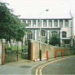 Old gateway on Malthouse Road before Chapelfield development