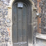 Priest's Door on S side of church