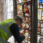 Re-installing East window